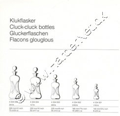 Holmegaard Glasv�rk katalog april, 1990
